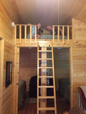 Columbia Falls, MT: Loft with Twin Bed