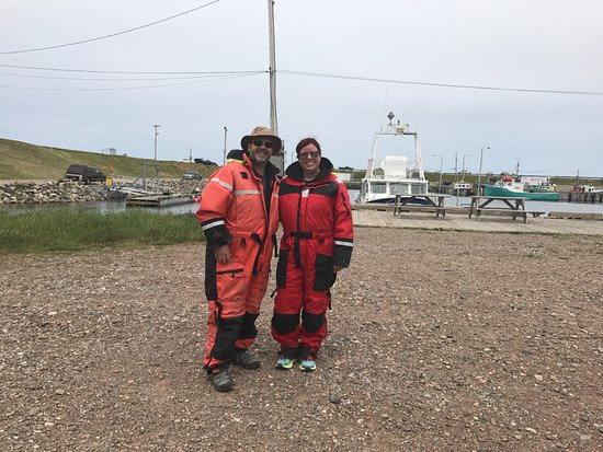 Pleasant Bay, كندا: Suited up and ready to go!