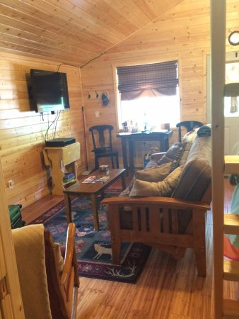 Columbia Falls, MT: Living Room/Family Room area