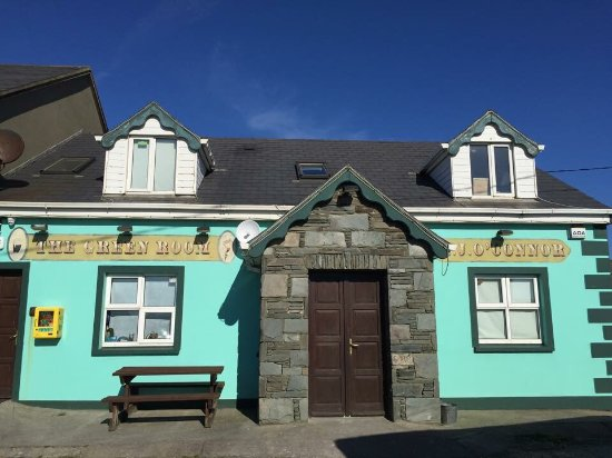 Castlegregory, İrlanda: The Green Room Bar