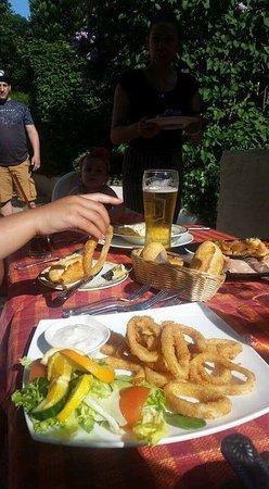 Padiham, UK: Calamari fritti