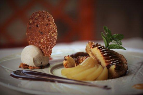 La Tour-de-Peilz, สวิตเซอร์แลนด์: tarte aux pommes