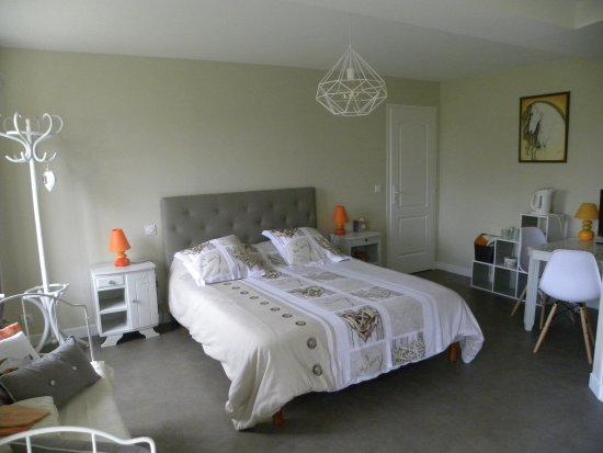 Maison d 39 h tes la qu ri re hotel mur de sologne france for Chambre 13 bd