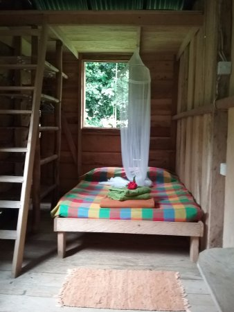 Delices, Dominika: Room with loft