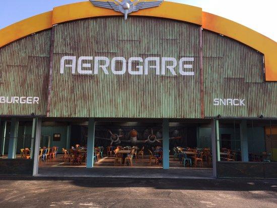 Merlimont, Frankrike:  L'aerogare: Nouvel espace Restauration