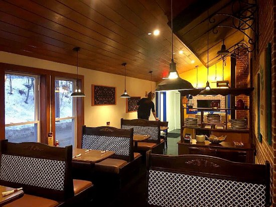 Littleton, Nueva Hampshire: The Little Grille at the Depot