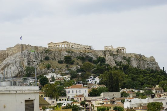 Athos Hotel: From, the roof terrace