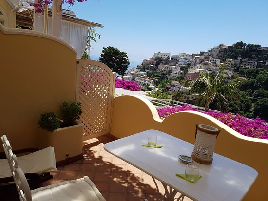 Villa Mary Suites: our terrace with fabulous view