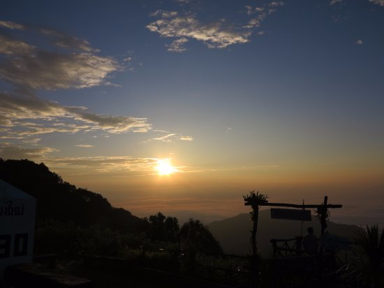 Fang City, Thailand: Sunrise at Doi Ang Khang