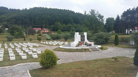 Kolasin, Montenegro: Partisan Memorial Cemetery at Breza