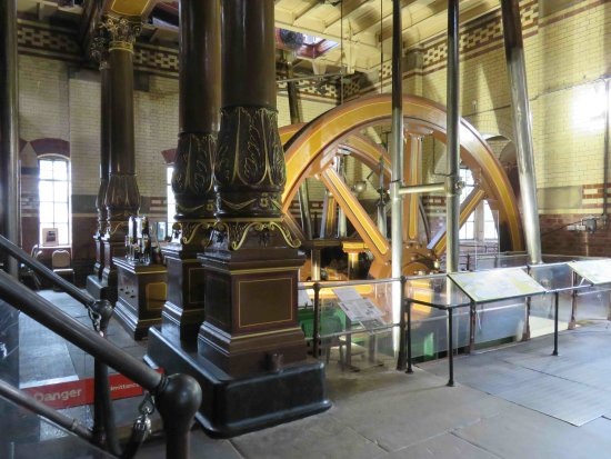 Abbey Pumping Station: Inside the pump room