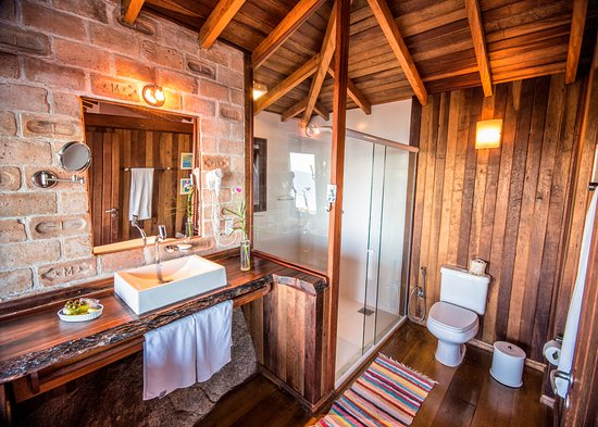 Pousada Caminho do Rei: Bathroom of the Master Chalet 5