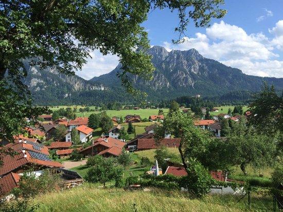 Schwangau, Γερμανία: Blick auf die Berge