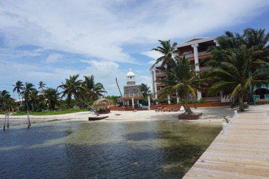 Athens Gate Beach Resort: Just half of the resort