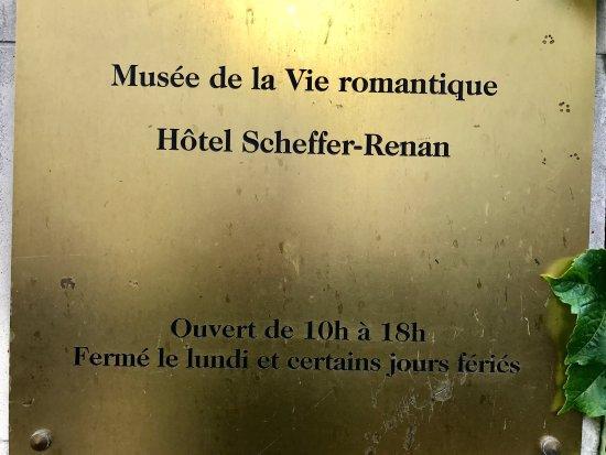 Picture of musee de la vie romantique paris - Musee de la vie romantique salon de the ...