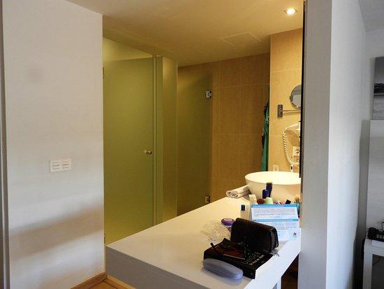 Badkamer Zonder Toilet : Badkamer met afzonderlijke inloopdouche en toilet junior suite