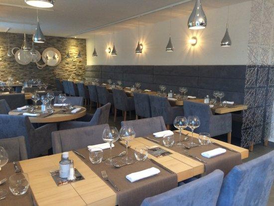 Restaurant interieur - Bild von L\'Escale du Somail., Le Somail ...