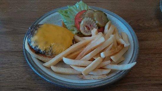 Ritzville, WA: Standard Cheese Burger...