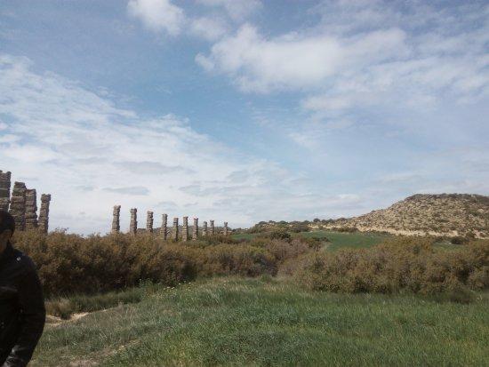 Uncastillo, España: Acueducto Los Bañales