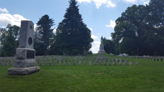 Sharpsburg, Мэриленд: Antietam National Cemetary