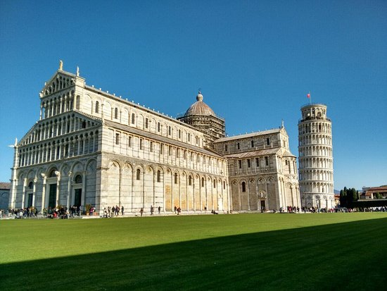 Map of Pisa Hotels and Attractions on a Pisa map TripAdvisor