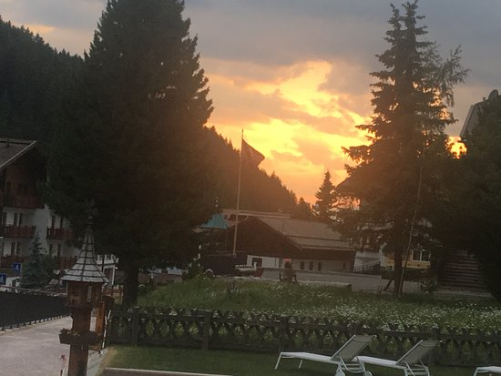 Hotel Sun Valley: Another amazing sunset.