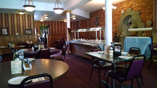 Afton, Estado de Nueva York: Saturday at lunch