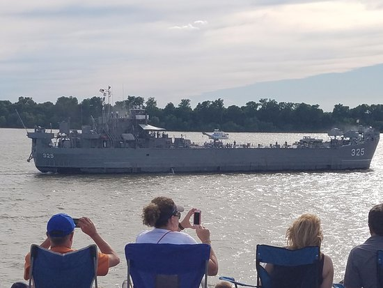 USS LST Ship Memorial: Part of the D-Day re-enactment at Shrinersfest