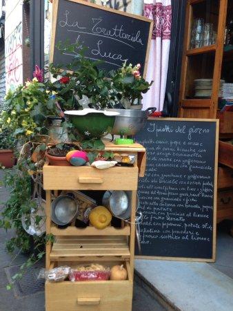 Ristorante la trattoriola di luca in roma con cucina for Menu cucina romana