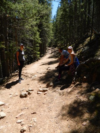Divide, CO: What the trail looks like most of the time