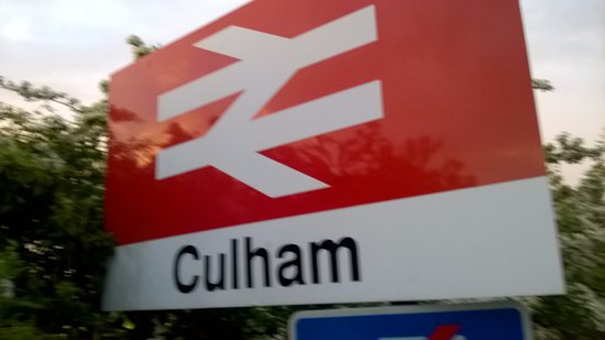 Culham Station, we are situated here