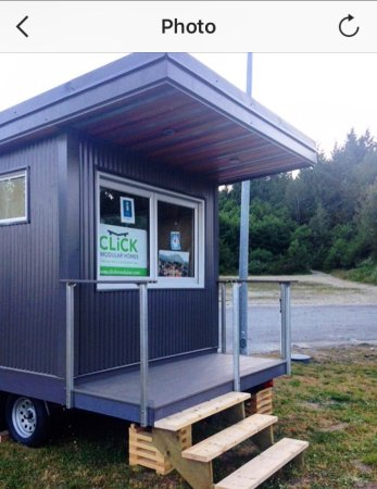 Gibsons, แคนาดา: Our new Visitor Information Kiosk located at the Visitor Information Park at the top of the by p