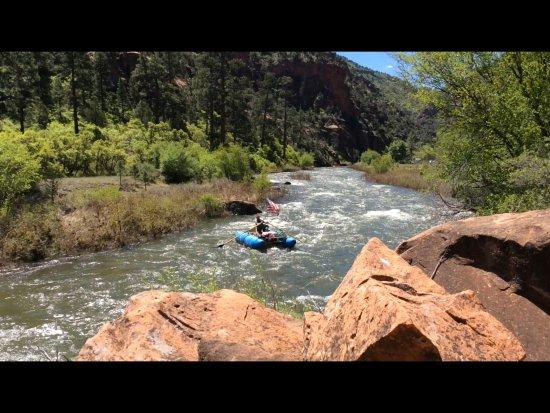 Dove Creek, Kolorado: Dolores County Colorado Lower Dolores River Rafting