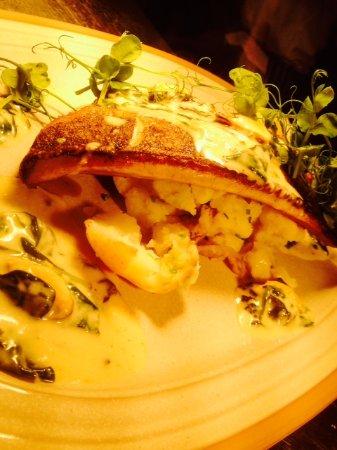 The Tempest Arms Restaurant: Seabass fillet