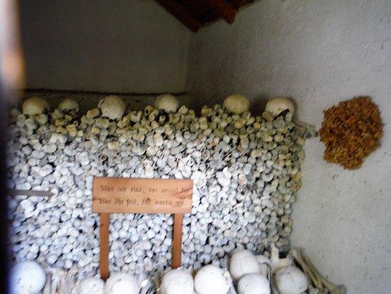 Tiefencastel, Switzerland: Ossuary