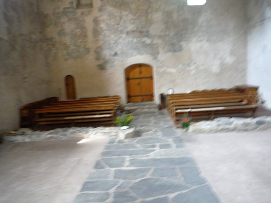 Tiefencastel, Suiza: Church inside