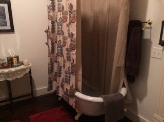 Paris, TN: Rose Room bathroom