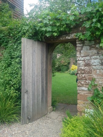 Temple Sowerby, UK: The garden door