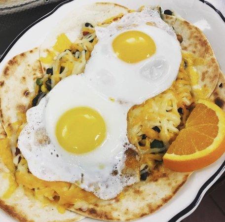 Huevos Rancheros-so delicious they smile!