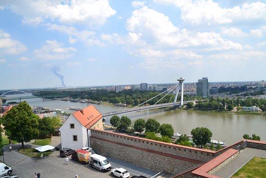 New Bridge (Novy Most): Вид с Града