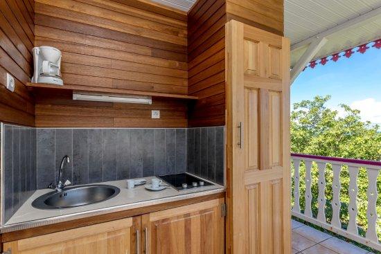 Residence Oceane Hotel Kitchenette