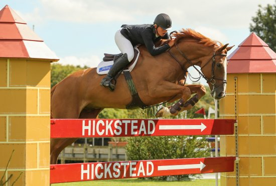 Hickstead, UK: Show jumping is the real attraction