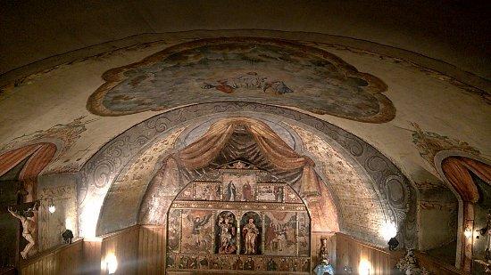Esglesia de Sant Miquel de La Mosquera: desde el coro