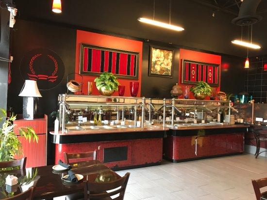 เออร์วิง, เท็กซัส: Buffet for lunch on weekdays