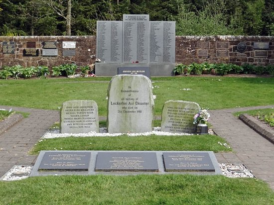 Lockerbie, UK: Garden of Remembrance