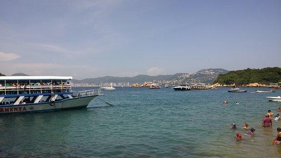 Isla La Roqueta. Bonita pero muy concurrida.
