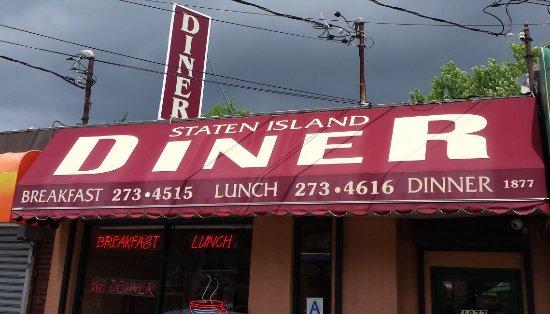 Staten Island Diner Awning Sign