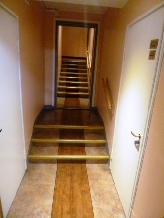 Arthur Hotel: Plenty of steps to the bedrooms