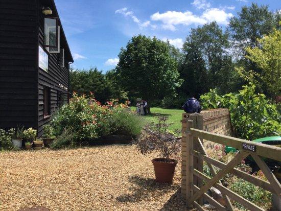 Pidley, UK: Plenty of open space & wildlife