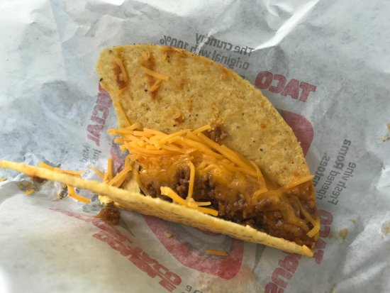 Crunchy Taco from Taco Bell New Castle